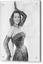 Maureen Ohara, Circa 1954 Acrylic Print by Everett