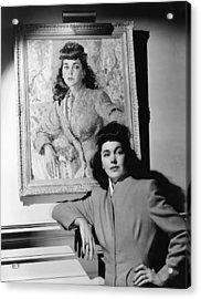 Maureen Osullivan Standing Acrylic Print by Everett