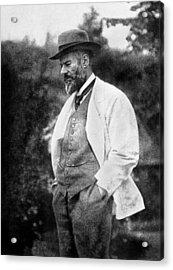 Max Weber 1864-1920 Acrylic Print by Granger