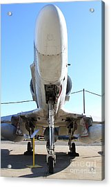 Mcdonnell Douglas Ta-4j Skyhawk Aircraft Fighter Plane . 7d11202 Acrylic Print by Wingsdomain Art and Photography