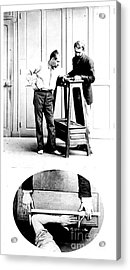 Measurement Of The Cubit, Bertillon Acrylic Print by Science Source
