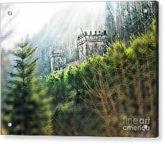 Medieval Towers In France Acrylic Print by Anita Antonia Nowack