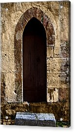 Medieval Welcome Acrylic Print by Cecil Fuselier