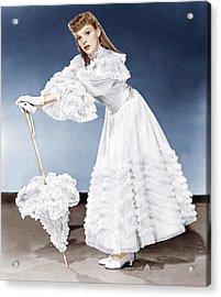 Meet Me In St. Louis, Judy Garland, 1944 Acrylic Print by Everett