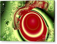 Melon Juice Acrylic Print by Jay Lethbridge