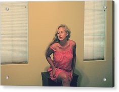 Memory Takes Over Acrylic Print by Laurie Search