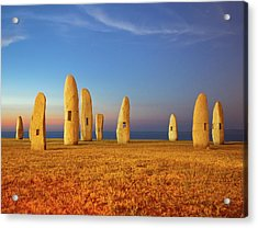 Menhirs Acrylic Print by Diego Velo