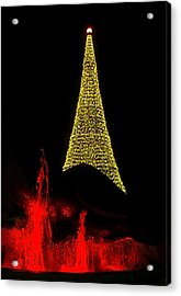 Merry Christmas ... Acrylic Print by Juergen Weiss