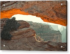 Mesa Arch Acrylic Print by Andrew Soundarajan