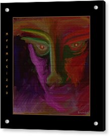 Mesmerized Acrylic Print by Mimulux patricia no