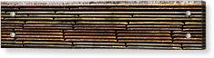 Metal Stripe  Acrylic Print by Jean Noren