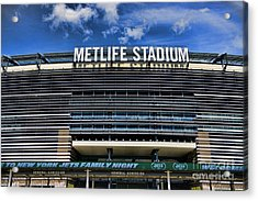 Metlife Stadium Acrylic Print by Paul Ward