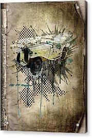 Mg Tc Roadster Acrylic Print by Svetlana Sewell