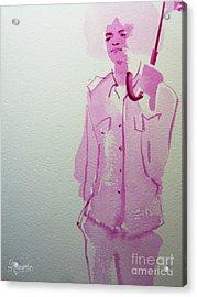 Michael Jackson - Shiny Day Acrylic Print by Hitomi Osanai