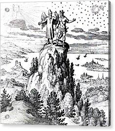Microcosm, Macrocosm, 17th Century Acrylic Print by Science Source
