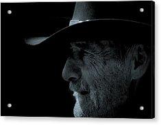 Midnight Cowboy Acrylic Print by Christine Till