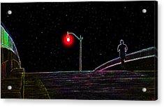 Midnight Run Acrylic Print by David Lee Thompson