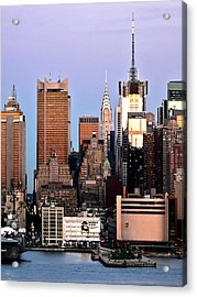 Midtown Manhattan 03 Acrylic Print by Artistic Photos