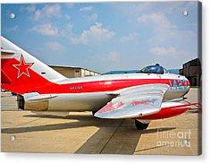Mig-17f Fresco C 17qs Acrylic Print by John Waclo
