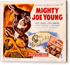 Mighty Joe Young, Terry Moore, 1949 Acrylic Print by Everett