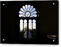 Minaret Through Window Acrylic Print by David Lee Thompson