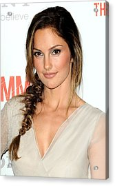 Minka Kelly At Arrivals For The Acrylic Print by Everett