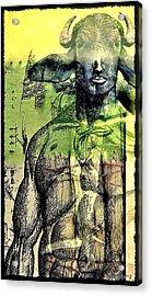 Minotaurus Acrylic Print by Paulo Zerbato