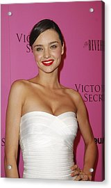 Miranda Kerr At Arrivals For Victorias Acrylic Print by Everett