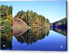 Mirror Image Acrylic Print by Susan Leggett