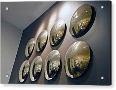 Mirrors Mirrors More Mirrors Acrylic Print by Kantilal Patel
