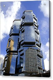 Buildings Acrylic Print featuring the photograph Mirrors by Roberto Alamino