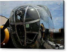 Mitchell B-25 Bomber Acrylic Print by Christopher Kirby