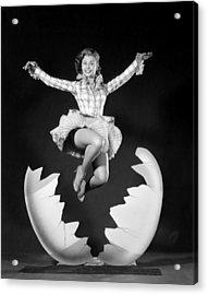 Mitzi Gaynor, Ca. Early 1950s Acrylic Print by Everett