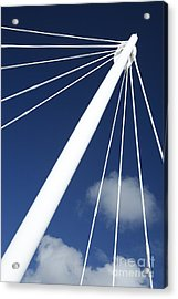 Modern Abstract Structure Acrylic Print by Gaspar Avila