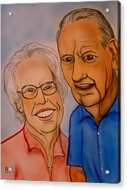 Mom And Dad Acrylic Print by Pete Maier