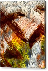Monsoon At Noon  Acrylic Print by Kimanthi Toure