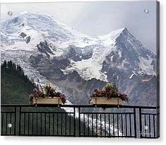 Mont Blanc Acrylic Print by Joe Bonita