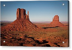 Monument Valley At Sunset Acrylic Print by by Carlos Esteves TOP Photography