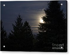 Moon Rising 01 Acrylic Print by Thomas Woolworth