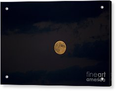 Moon Rising 05 Acrylic Print by Thomas Woolworth