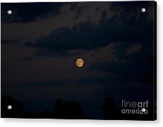Moon Rising 06 Acrylic Print by Thomas Woolworth