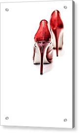 More Red Hot Seduction Acrylic Print by Bob Daalder