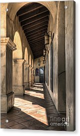 Mormon Battalion Historic Site - Old Town San Diego Acrylic Print by Eddie Yerkish