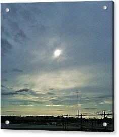 #morning #andrography #nexuss #clouds Acrylic Print by Kel Hill