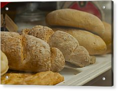 Morning Bread Acrylic Print by William  Carson Jr