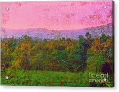 Morning In The Mountains Acrylic Print by Judi Bagwell
