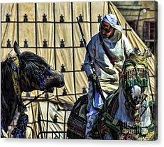 Morocco Festival II Acrylic Print by Chuck Kuhn