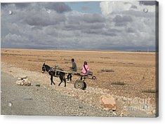 Morocco Transportation Acrylic Print by Chuck Kuhn