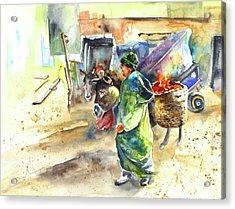 Morrocan Market 04 Acrylic Print by Miki De Goodaboom
