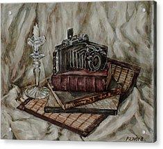 Moscow-2 Camera Acrylic Print by Boris Filinov